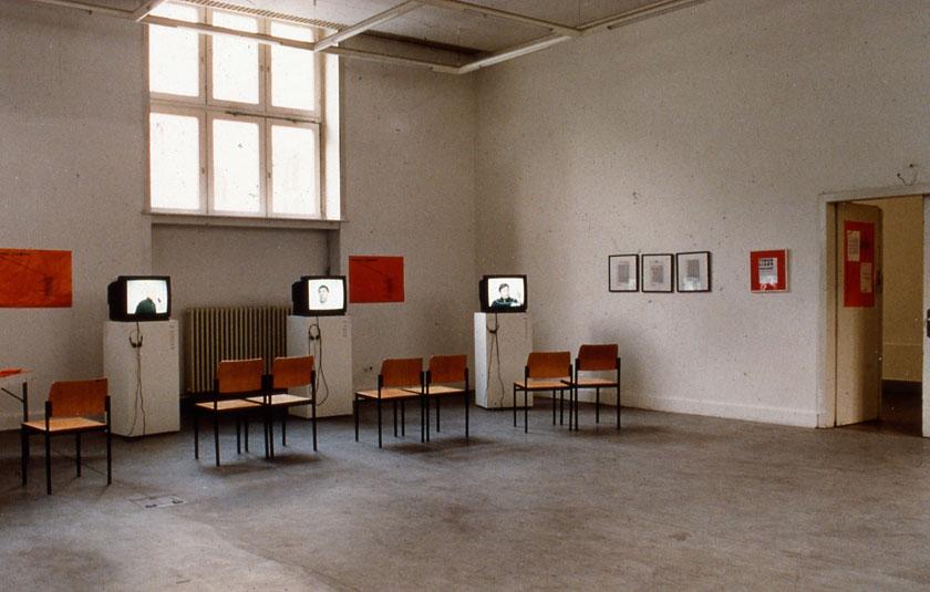 Ausstellungsansicht, Integrale Kunstprojekte (NGBK), HBK Berlin