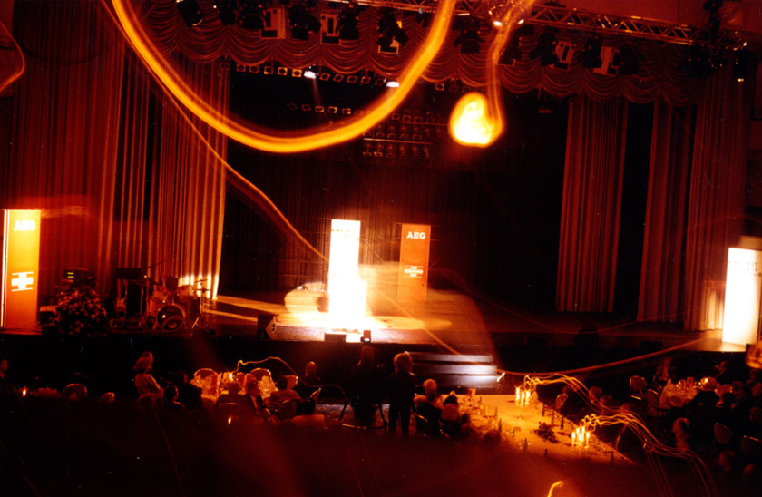 Award ceremony, Gala of AEG at Hotel Maritim, Cologne