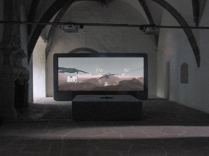 Installation View 'Landschaften', Staatliche Galerie Moritzburg, Halle