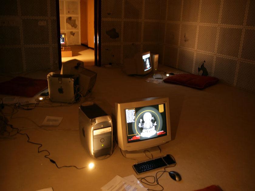 Installation View, Werkleitz Biennale, Halle