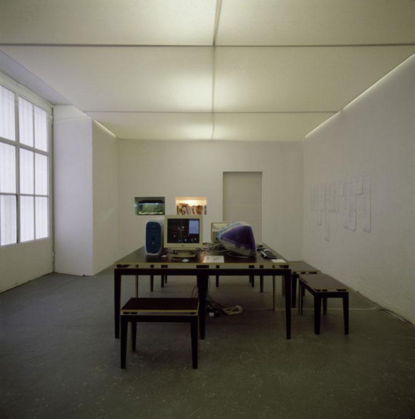 "Ausstellungsansicht ""The Chinese Room"", NGBK Berlin"