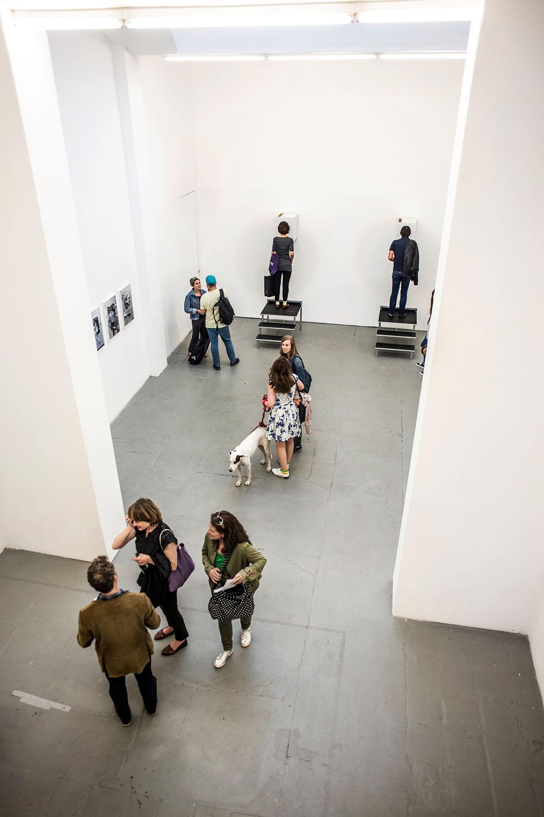 Installation View, Meinblau Project Space, Berlin
