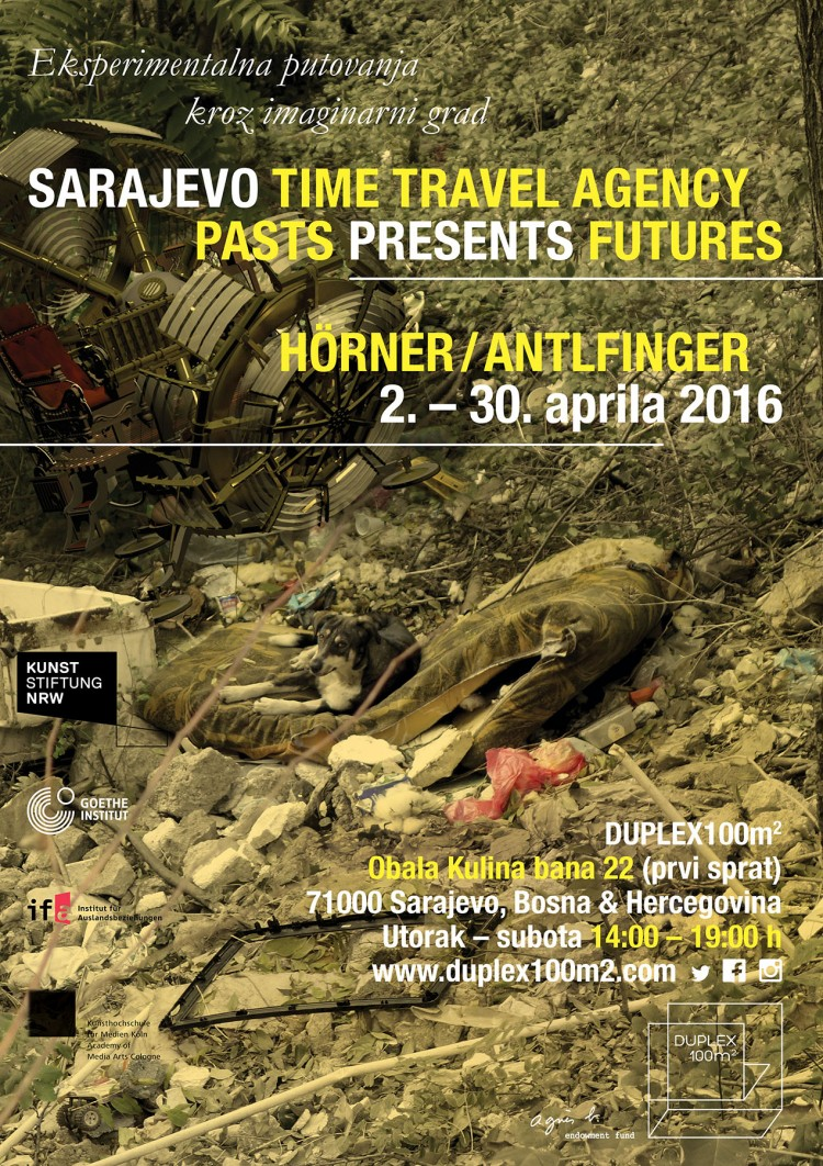 SARAJEVO TIME TRAVEL AGENCY, PASTS PRESENTS FUTURES