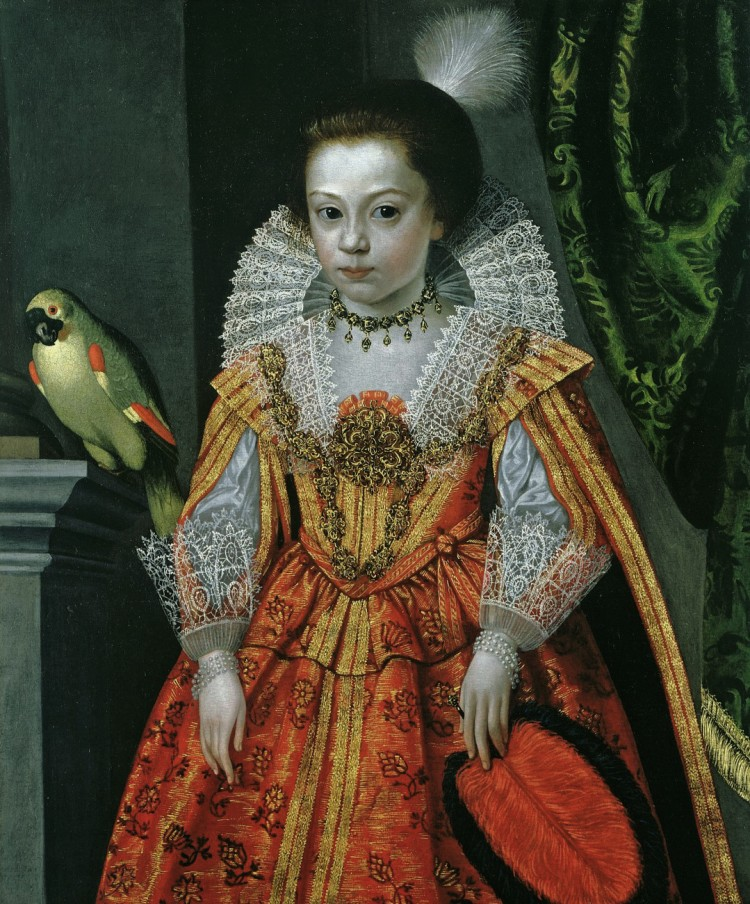 Unknown Parrot with Princess