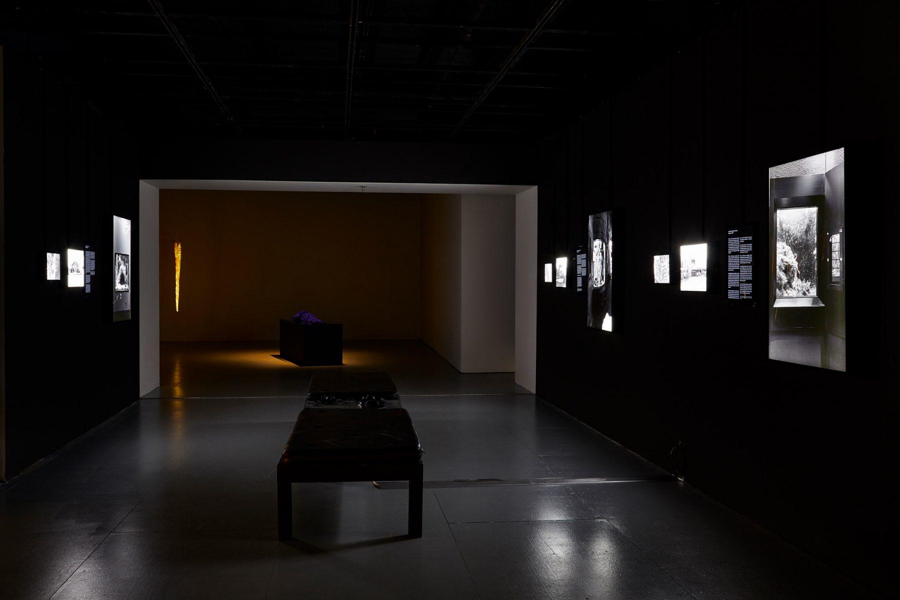 Installation View, Okto-Lab, Plimsoll Gallery, Hobart, Tasmania,  Photo Rémi Chauvin