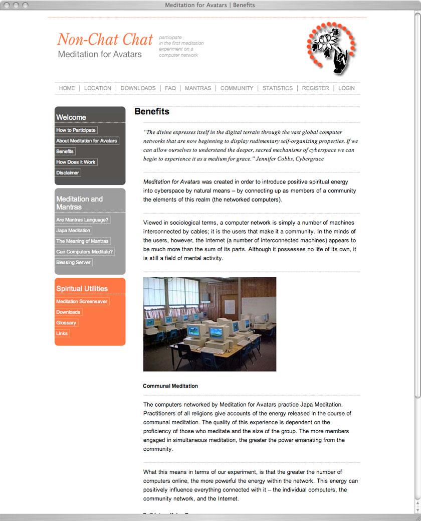 Screen Shot Website