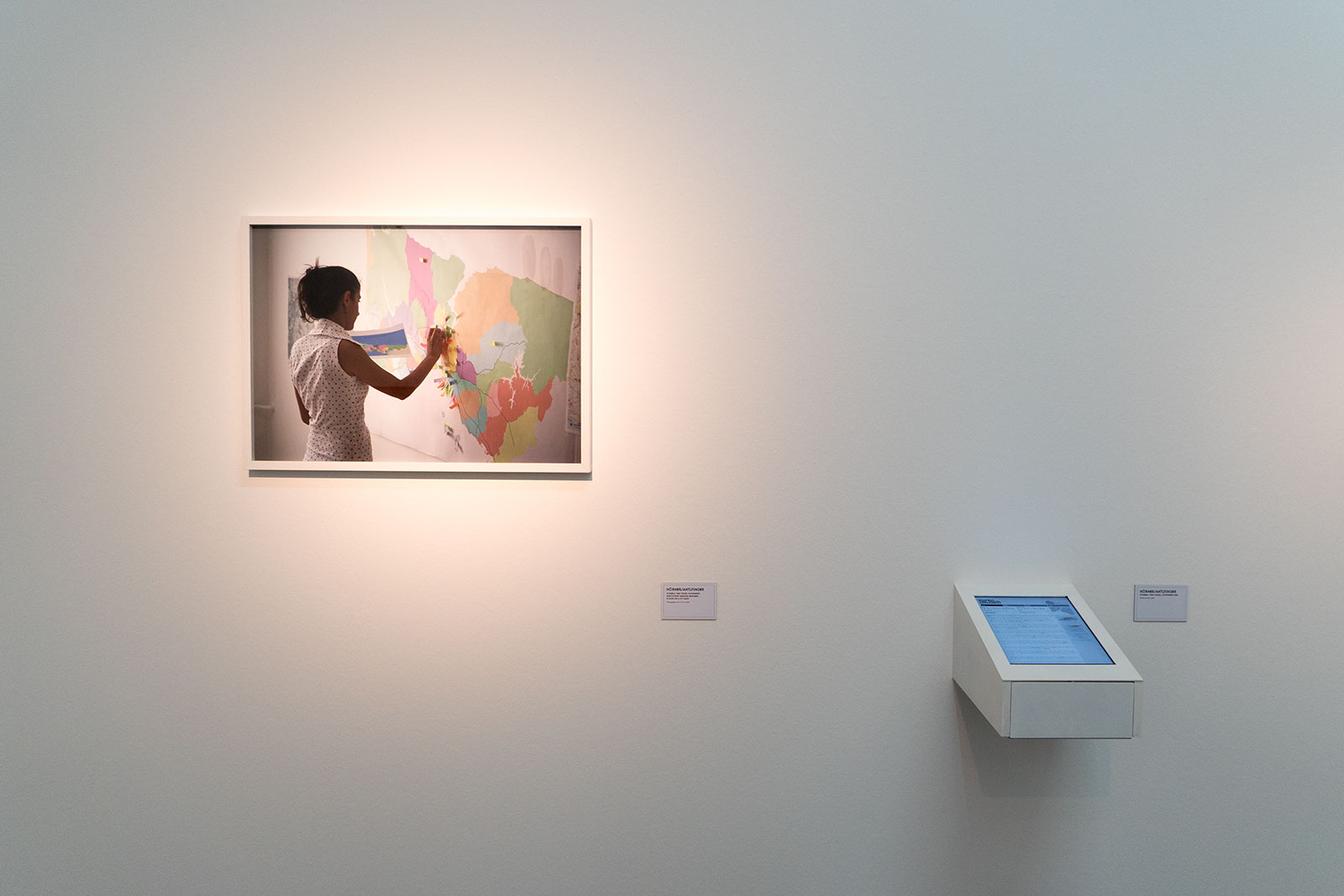 Istanbul Time Travel Experiment, Participant marking imagined places on a map, 2010