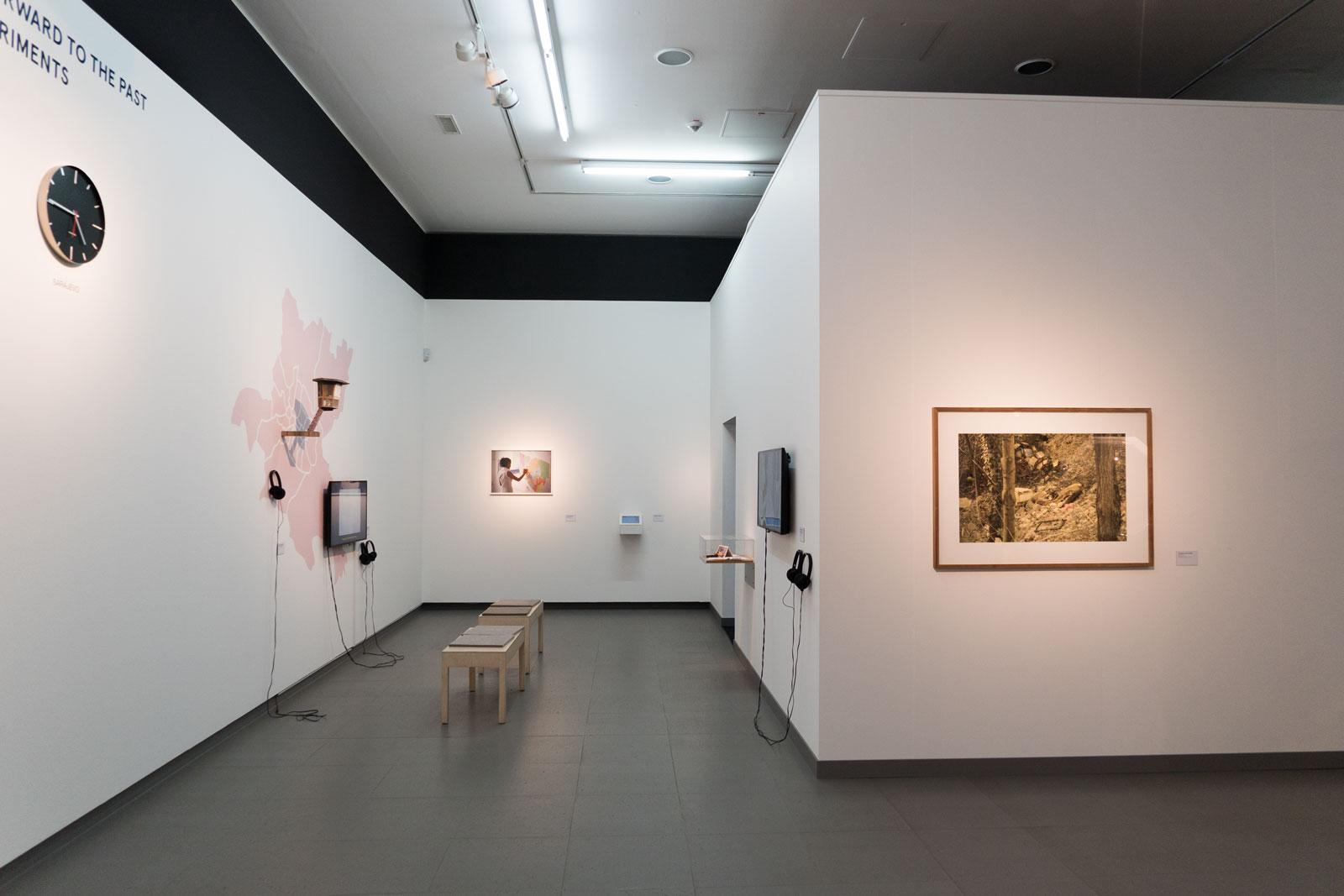 Installation View, Hörner/Antlfinger, PLANET–B, NRW-Forum Düsseldorf